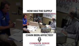 Common Sense Radio - How Has COVID-19 Affected The Supply Chain to Restaurants?